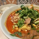 My kind of extra spicy comfort food 😋 麻辣燙加辣,外加一份餃子唷😍😚 #麻辣 #餃子
