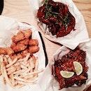 #8dayseat #burpple #instagramsg #instasg #igsg #igsgfood #sgfoodporn #onthetable #whati8today #coffeesesh #vscophile #vscofilm #sgcafe #vscocamsg #vscofood #sgfood #cafesg #foodsg #igsgstyle #burpple #sgfoodies #8dayseatout #foodspotting #openricesg #foodforfoodies #welovecleo #instafood_sg #koreanchickenwigs #chickenwings #koreanfood #chickandken