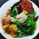 7🌟 / 10🌟 Yummy Yong Tau Foo @ S$5 for 8 items at Food Court at Fusionopolis basement