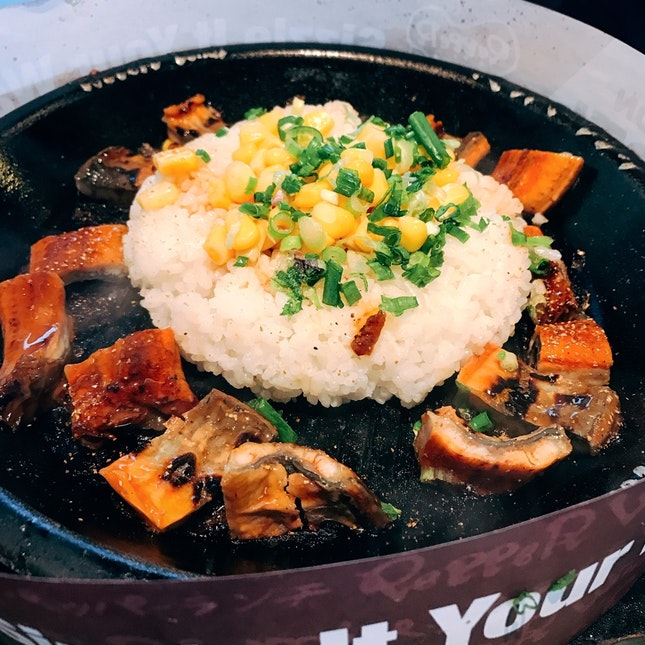 Unagi Pepper Rice