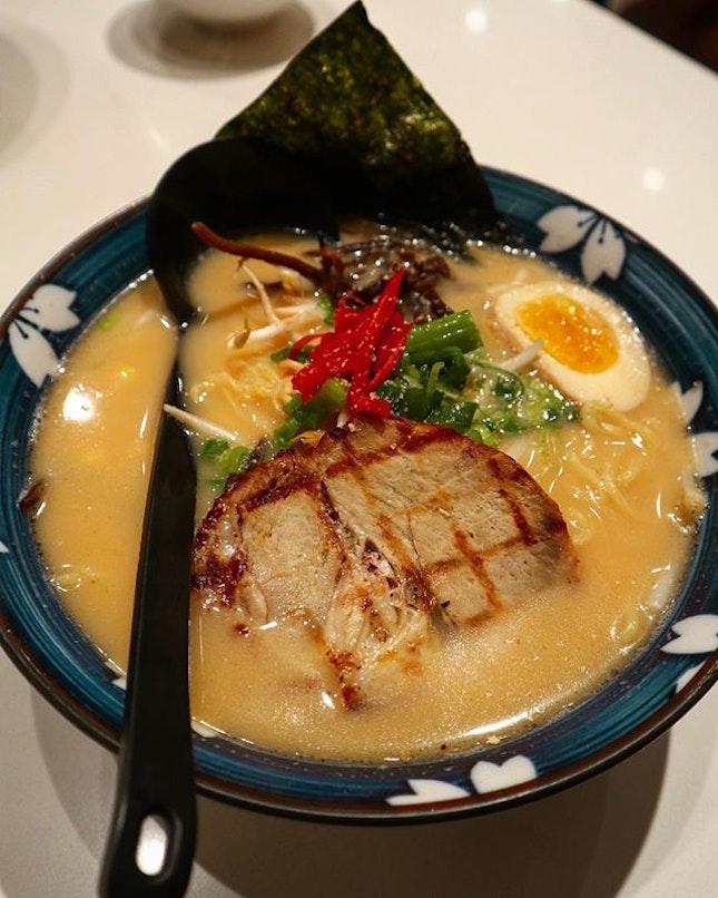 Had the Tonkotsu Shoyu Ramen and it was just decent.