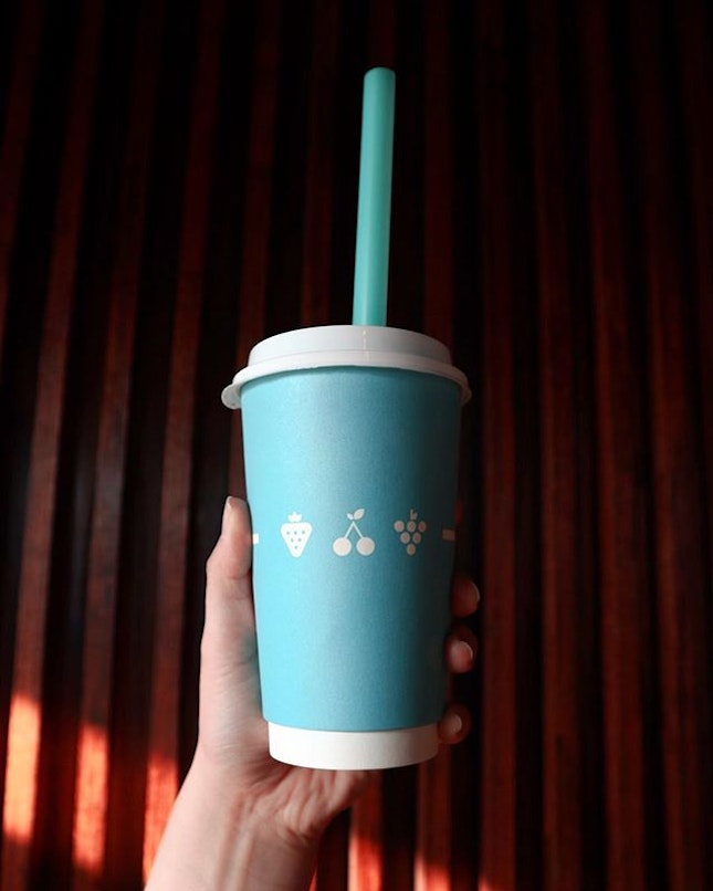 ❄️ Hot Taro Milk Tea with Pearls for the freezing weather ❄️