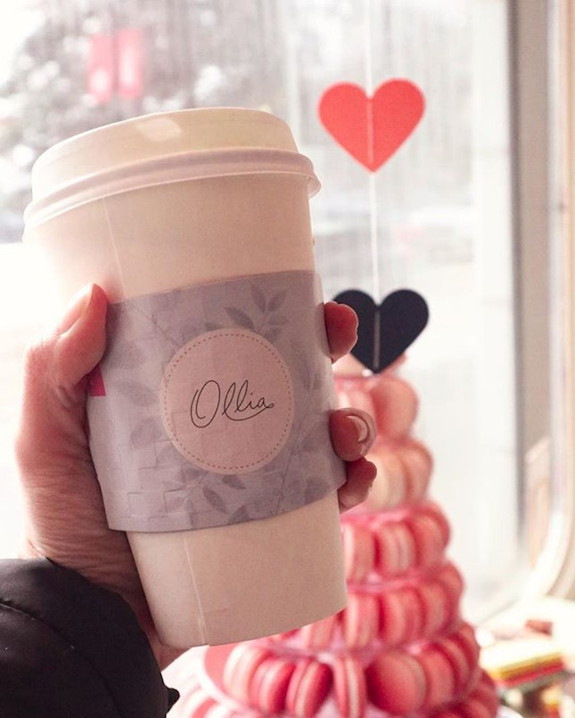 Had the Matcha Latte from Ollia.