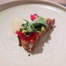 (4/7 courses) Lamb Rib — ssamjang, garlic, chyesim.