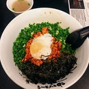 My favourite Mazesoba place in Singapore 🤩 As usual, I got the Mazesoba Nagoya Style 👍🏻 .
