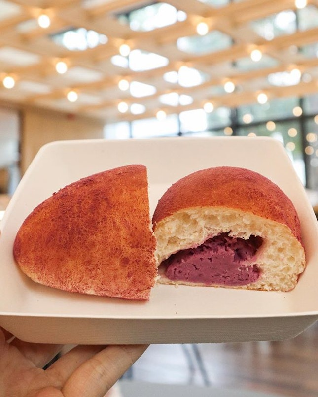 The Purple Dust bread from the Lazy Loaf.