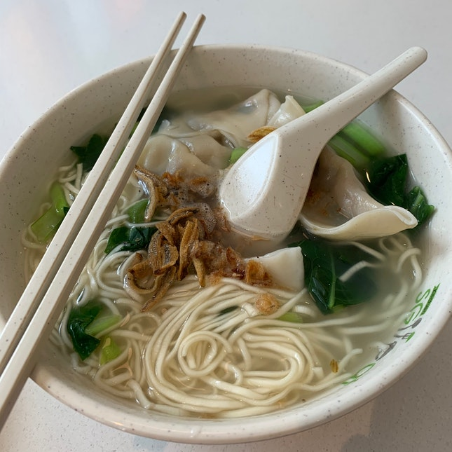 Dumpling Noodles 饺子拉面 ($5)