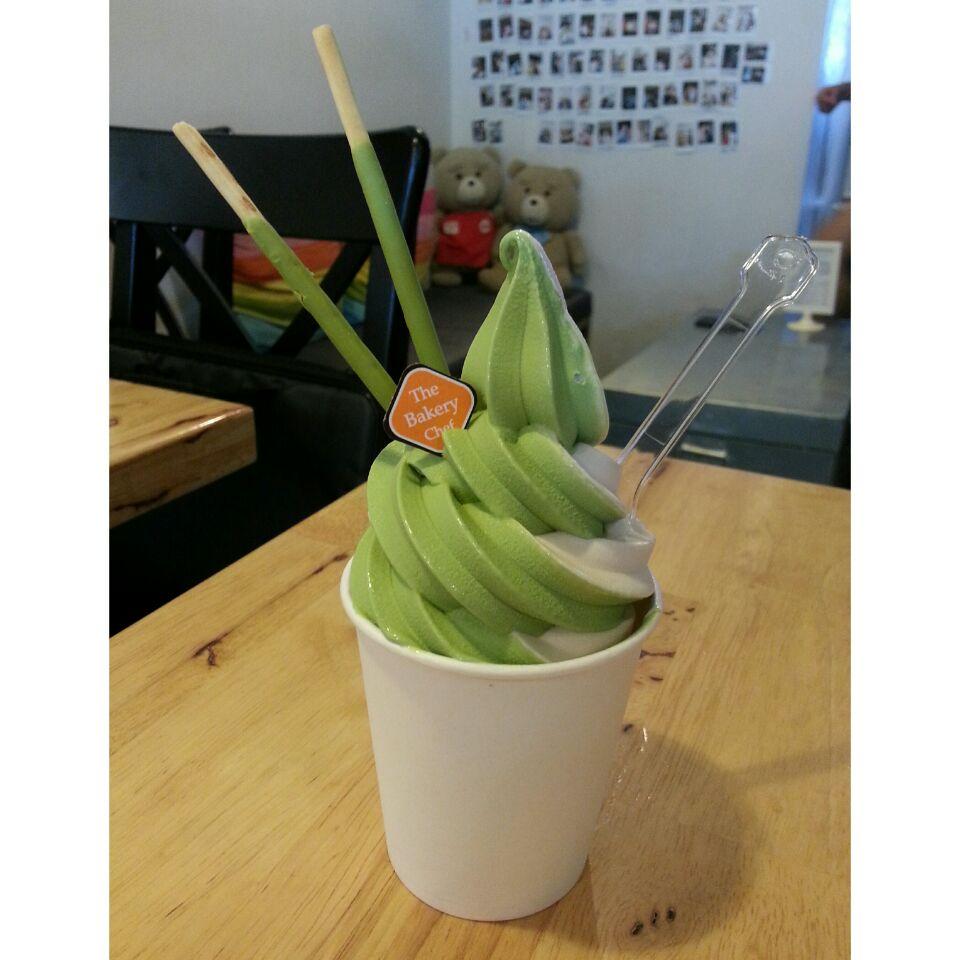 Earl Grey & Green Tea Soft Serve
