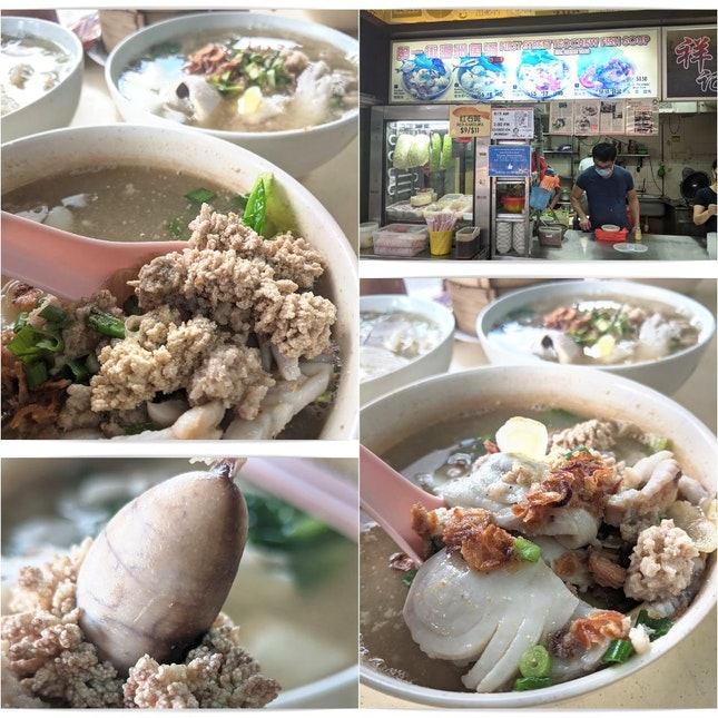 Wholesome Fresh Teochew Fish Soup