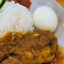 Yellow Chicken Nasi Lemak