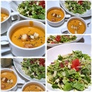 Soup Of The Day And House Salad