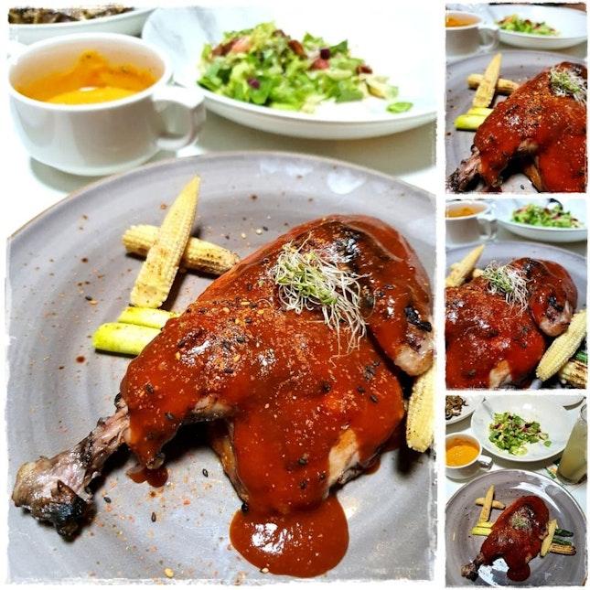 Dev Char Grilled Half Spring Chicken