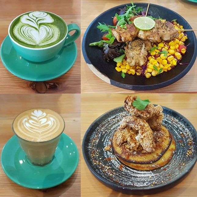 """Random café-hopping session at my favorite spot for the not """"early-bird"""" like me.."""