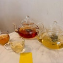 PASSIONFRUIT TEA + STRAWBERRY GREEN TEA