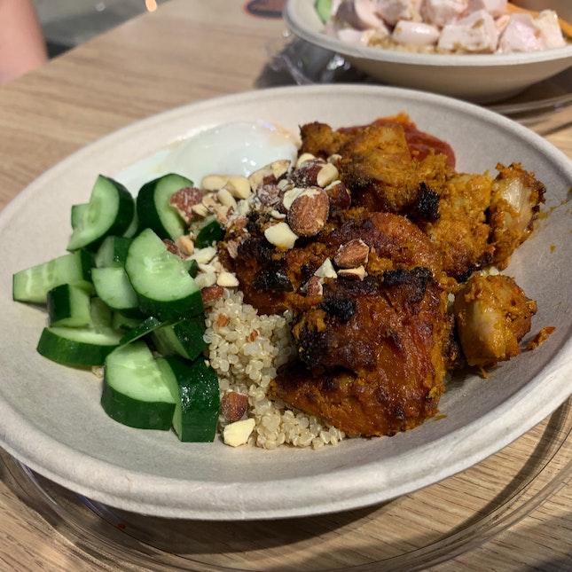 Healthier Yet Delicious Nasi Lemak