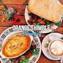 Beef Shepard Pie x English Roll w Ciabatta x Latte // Saturday Brunch w @juliaspills 👯 #orangethimble #orangethimblecafe #sgcafe #cafesg #igsg #burpple #onthetable #food #foodstagram #foodphotography #instafood #instafoodie #brunch #yummy #happy #vsco #vscom #caffeinefixed #caffeine #latte #latteart #latergram #coffeeonthetable