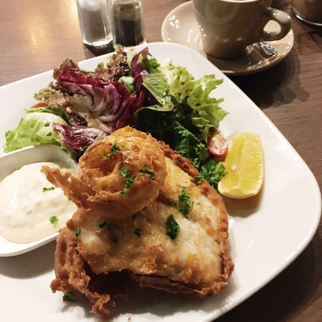 Fish & Chips RM32