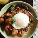 Spaghetti Goreng Highstreet RM23   Calamansi + Sour Plum (RM14)