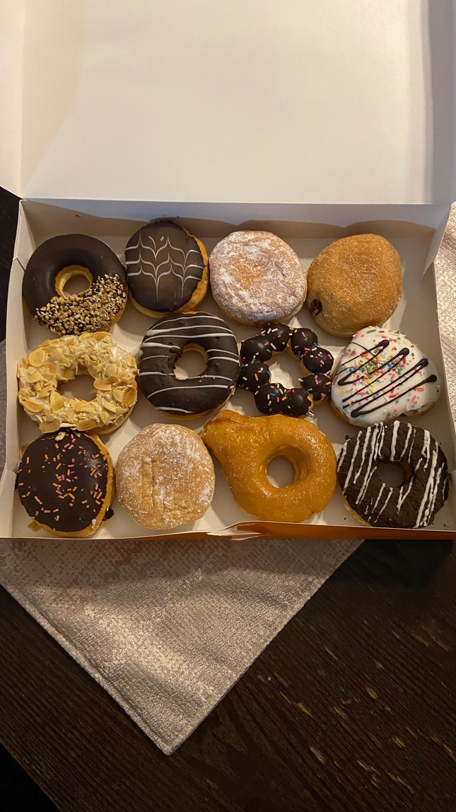 6-For-6 Donuts