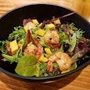 #burpple #food #foodie #foodpics #halalsg #halal #halalfood #halalsingapore #singaporefood #sgfood #sgfoodie #hungry #hungrygirl #cravings #kravecafe #kravewest #westsidemakan #salad #prawnmangosalad
