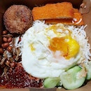 Nasi Lemak Fish Fillet set ($5.90)