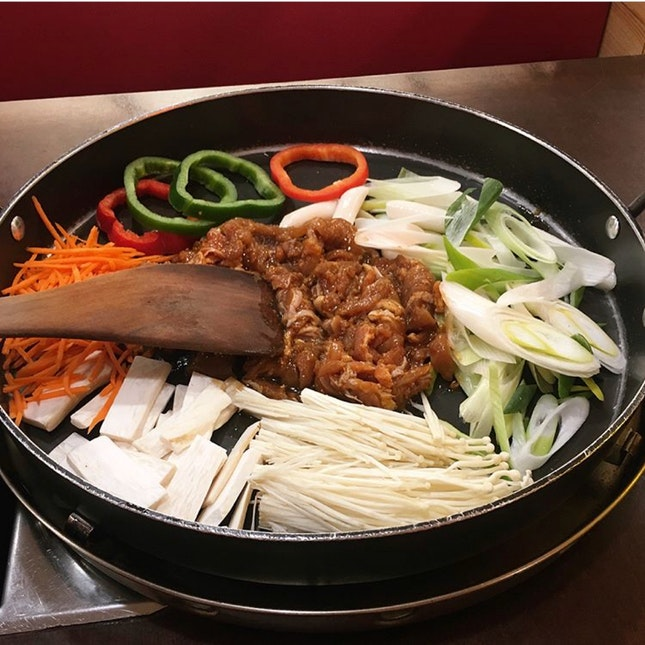 Non-spicy Chicken Bulgogi
