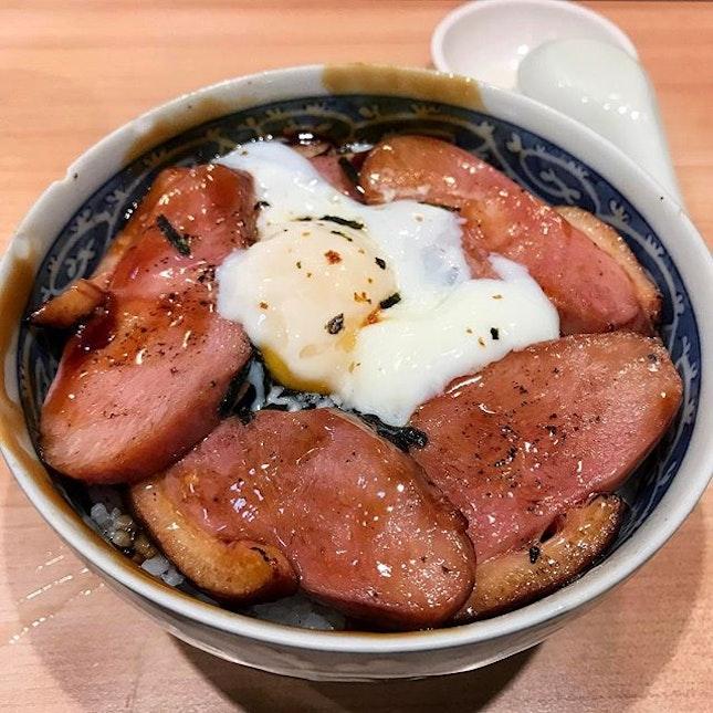 Glazed Duck & Onsen Egg Donburi • どんぶり 🎌👌🏻.