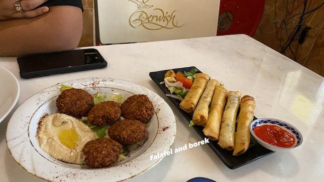 Falafel And Borek