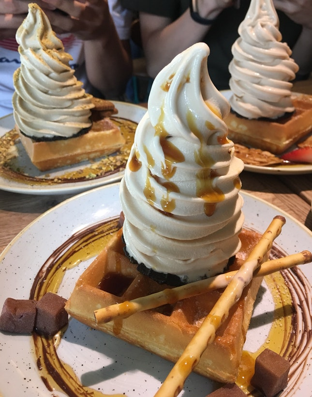 Waffles And Softserve!