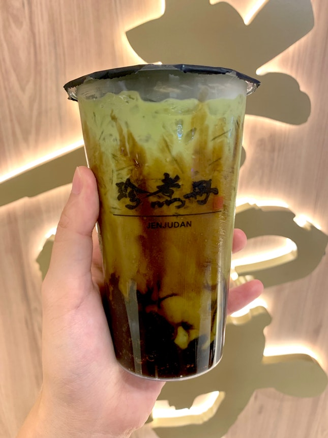 Brown Sugar Boba Matcha Green Tea