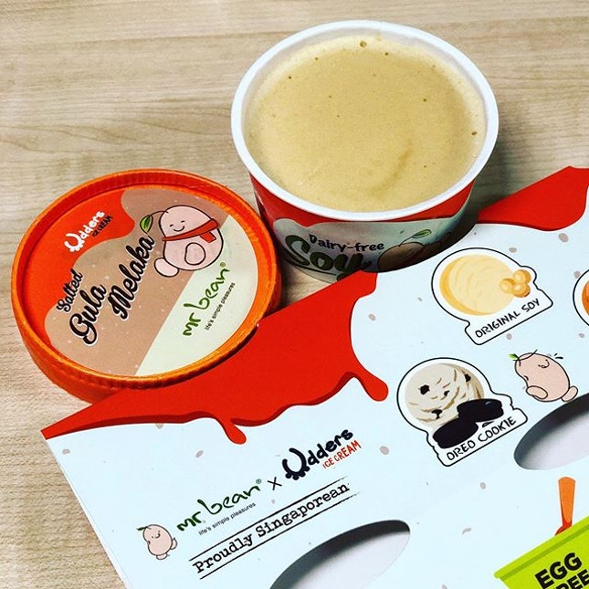 Mr Bean x Udders for a guilt free sweet treat.
