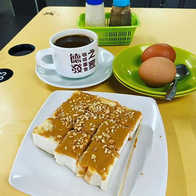 1x breakfast toast set to start the day.