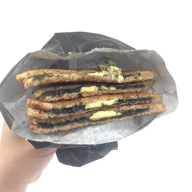 Black Sesame Toast