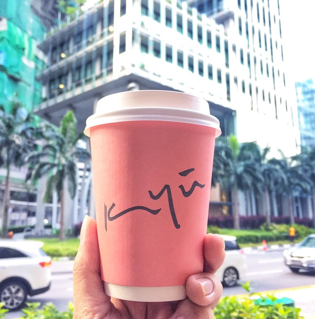 Start My Week With A Pink Cup Of Coffee