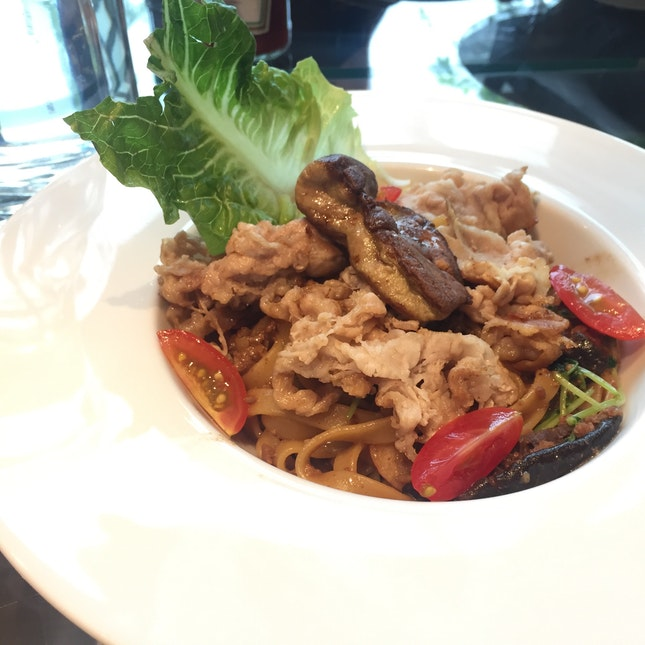 Bak Cho Mee Pasta With Foie Gras