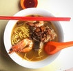 Prawn Noodle With Pork Ribs
