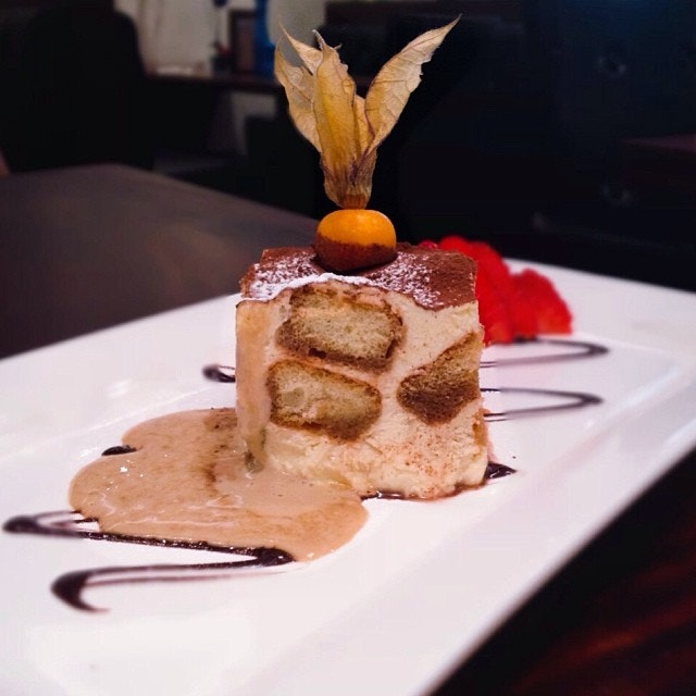 Chef's favourite classic Italian tiramisu.