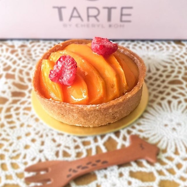 This is one of my favourite tarts from Tarte by Cheryl Koh.