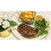   🐮 Quite a Moovellous plate of Steak。...
