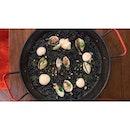 | 🥘 Savoury Squid Ink Paella 。...