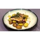   🐟 Refreshing Pan Fried Salmon 。...