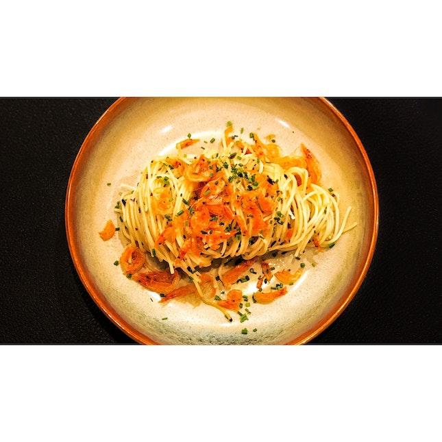 | 🦐 Beautiful Sakura Ebi Pasta !...