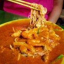 Sin Chew Satay Bee Hoon ($6 large)