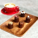 Le Canelé D Or Part I (swipe for more) Lovely treats to share with your families and love ones.