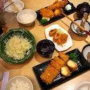 Tonkatsu at Saboten Belated Bday meal at Saobten..