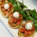 Bruschetta Loving this Chilled fresh tomato Bruschetta!