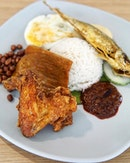 Nasi Lemak Sometimes what you u need is some simple comfort food like.....