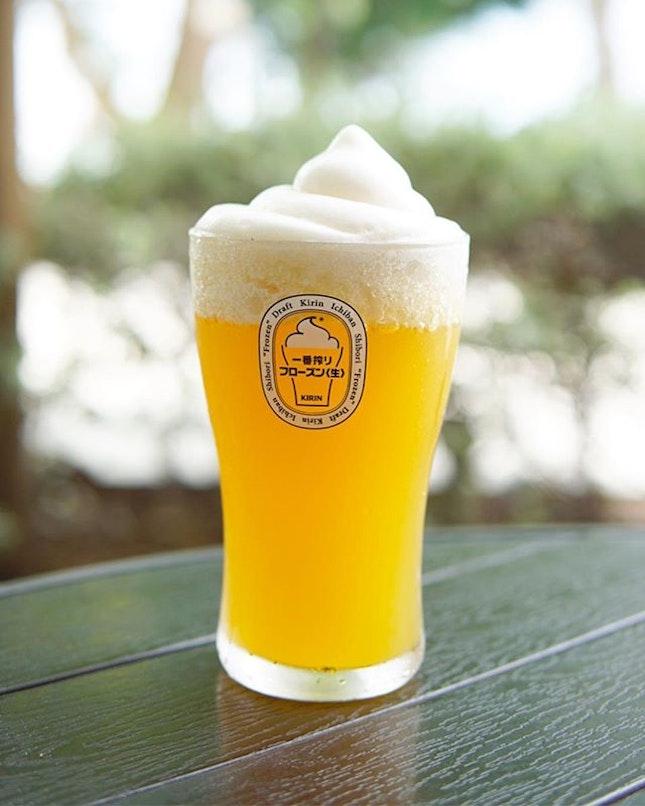 Kirin Beer When it gets too hot, just have a beer, have a Kirin Frozen Beer☝🏽 Available on Tap @atmospherebistrosg 🔹 🔹 🔹 🔹 #atmospherebistrosg#atmospherebistro#eggs#beer#kirin#kirinfrozenbeer#breakfast#foodie#eatsg#delicious#singapore#frozenbeer#sgfoodporn#sgfoodie#sgfood#foodsg#foodporn#coconut#instasg#foodpics#foodgasm#instasg#sgfoodies#icebeer#hungrygowhere#burpple#burpplesg#makanwarrior#cream#eastcoast