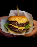 Double Cheese Burger  By far, my favorite 'burger' in Singapore..