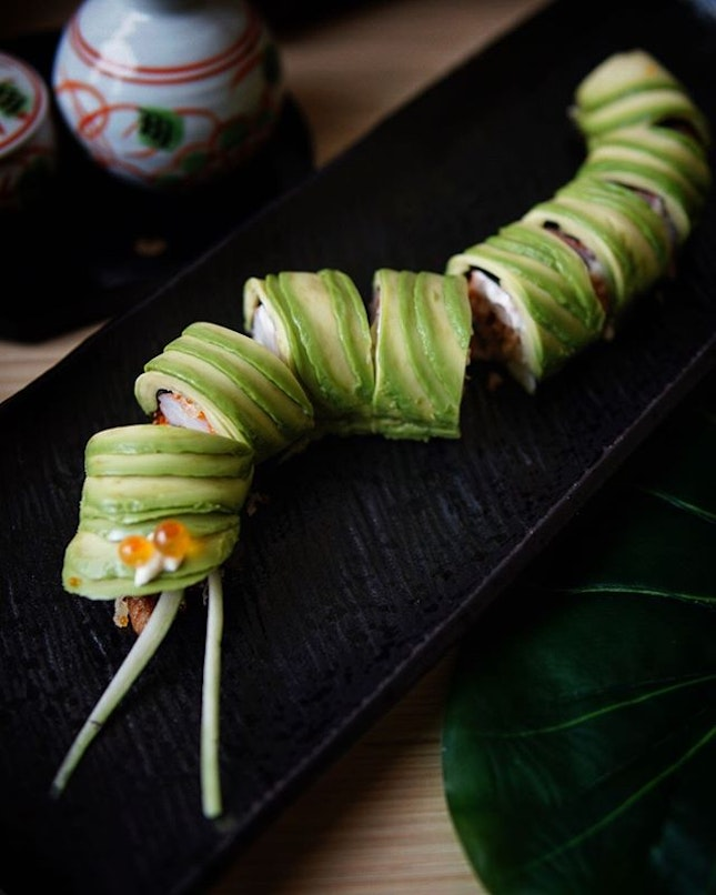 Caterpillar Maki @kyoajisg  For those who did not win the giveaway, Fret not as there will be an in house promotion of 20% OFF total bill till end of June!